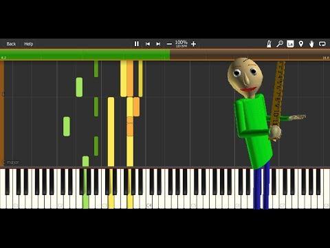 Baldi's Basics music - JesseRoxII's stylized remakes