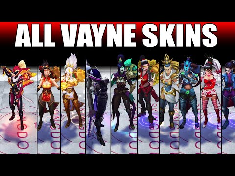 All Vayne Skins 2020 (League of Legends)