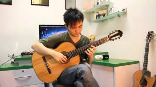 "Final Fantasy VIII - Eyes On Me ""Classical Guitar"" (Steven Law)"