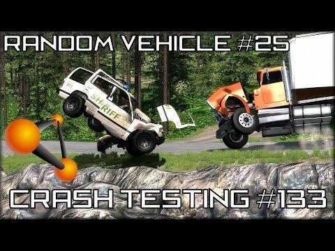 BeamNG Drive Random Vehicle #25 Crash Testing #133