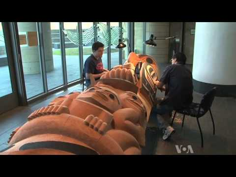Totem Pole Art Preserves Native American Culture