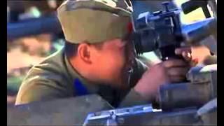 Съемки клипа про Халхин гол, М Девятова