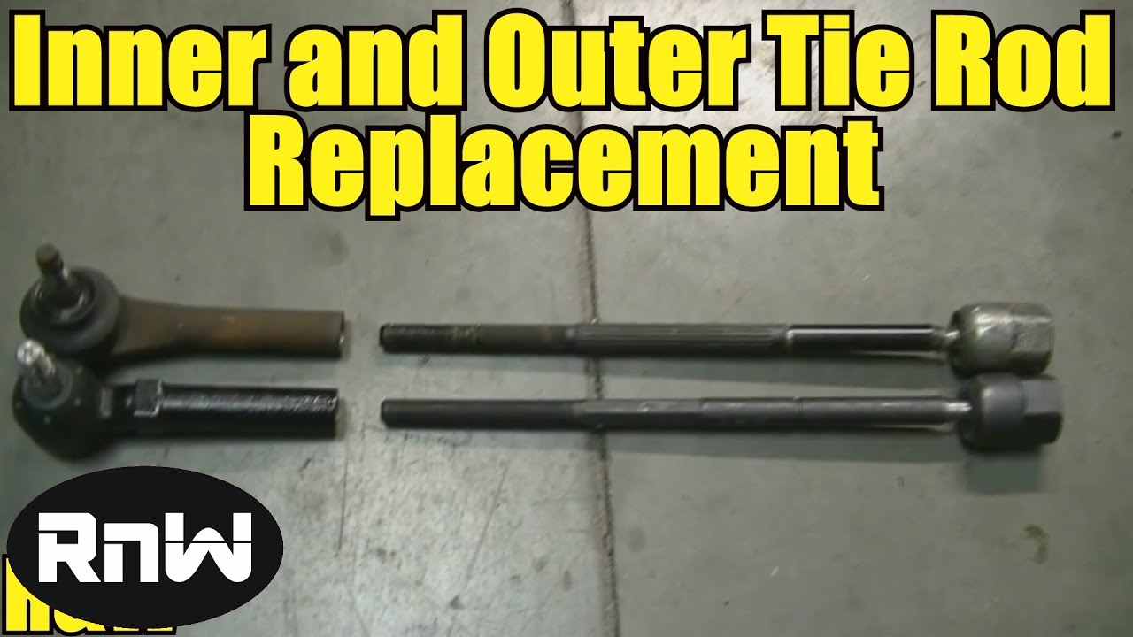 hight resolution of how to remove and replace inner and outer tie rod ends