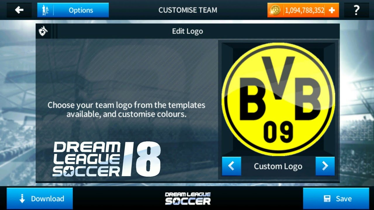 ec522227ee8 How to Import Borussia Dortmund Logo And Kits In Dream League Soccer 2018