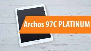 распаковка Archos 97C PLATINUM / Unboxing Archos 97C PLATINUM