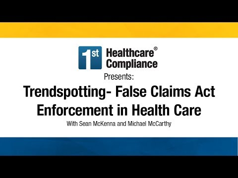 Trendspotting--False Claims Act Enforcement in Health Care