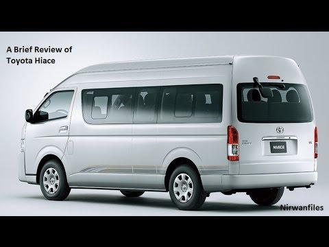 Penjelasan tentang Mobil Toyota HIace