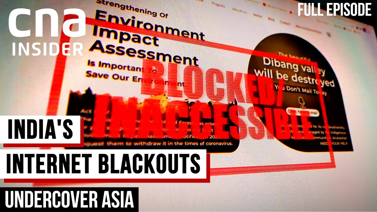 Download India's Internet Shutdowns: Human Right Violation Or National Security Measure? | Undercover Asia