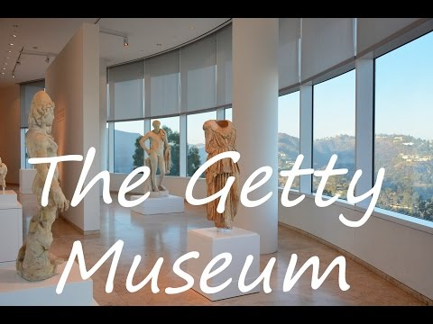 Getting around Getty Museum in Los Angeles