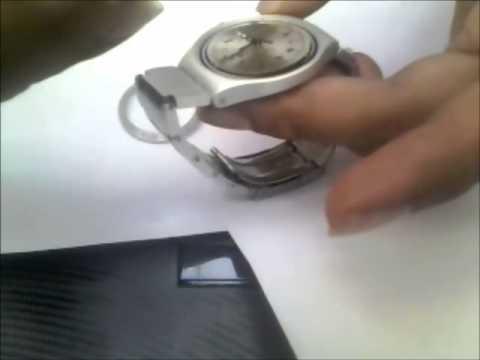 04101bc537 Cambiar mica reloj Swatch aluminio - YouTube