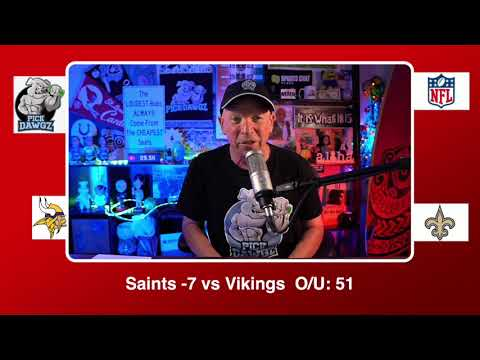 New Orleans Saints vs Minnesota Vikings 12/25/20 NFL Pick and Prediction Friday Week 16 NFL