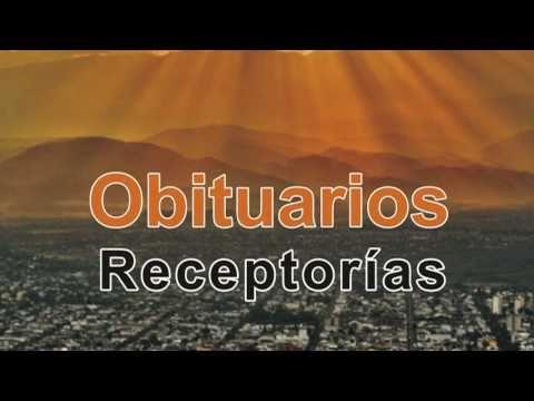 Publique su Obituario en estas Receptorias (El Tribuno)