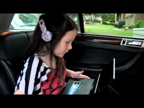 Child Reviews Sony Portable DVD Player