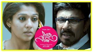 Raja Rani Tamil Movie Scenes   Sathyaraj hospitalised   Jai is no more   Nayanthara   Arya