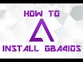 HOW TO INSTALL GBA4IOS & HOW TO DOWNLOAD GAMES