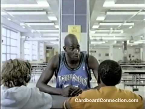 Upper Deck Basketball Cards Commercial with Kevin Garnett