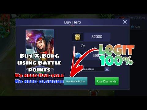How to buy X Borg using BP? | No Need Pre-sale | No Need Diamonds | Mobile  Legends BangBang