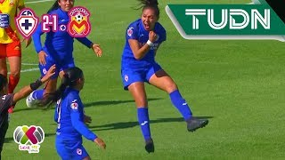 La máquina celeste invicta | Cruz Azul 2 - 1 Morelia | Liga MX Femenil - Ap 19 J4 | TUDN