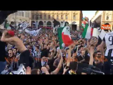 Juventus Campione d'Italia: la festa a Torino