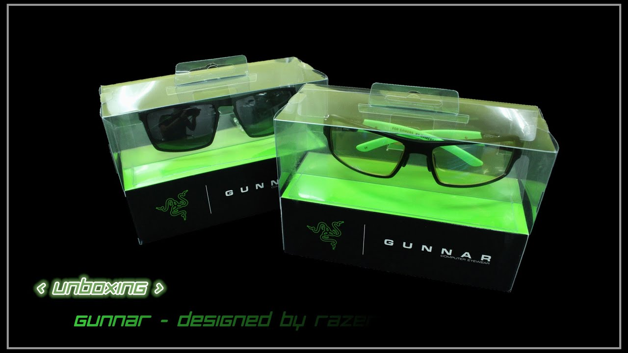76c784c4d7a1 UNBOXING - GUNNAR DESIGNED BY RAZER - YouTube