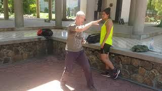 Siem Reap Martial arts, Kung Fu basics level 2 demo