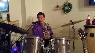 最近、デュェットをドラム歌唱で入れてます。本当はデュエットで歌えば...