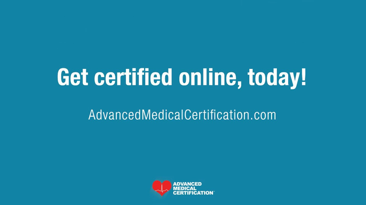 certification advanced medical certified
