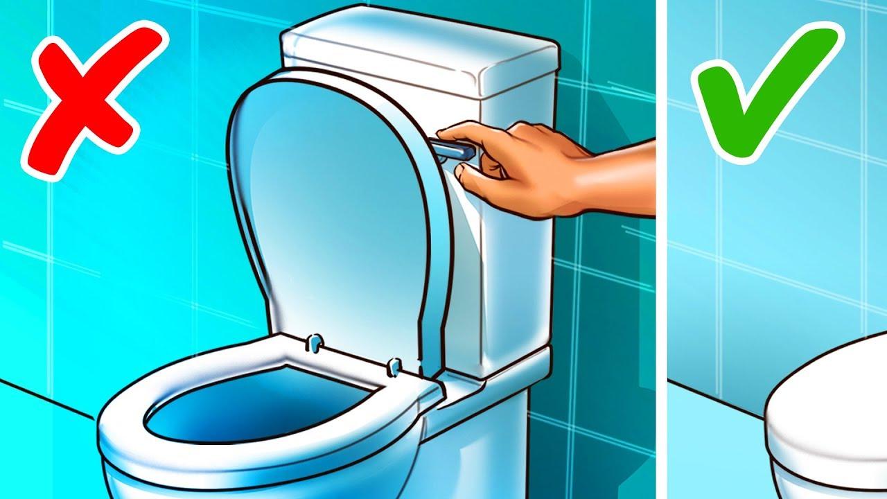 13 Cosas que seguimos haciendo mal en el baño