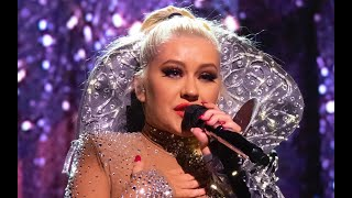 """CHRISTINA AGUILERA: """"The voice within"""" live in London - The X Tour"""
