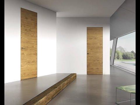 Установка дверей скрытого монтажа на алюминиевой коробке