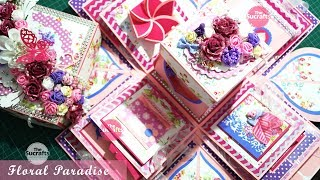 Large Explosion Box ( Floral Paradise ) | The Sucrafts