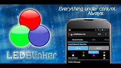 LED Blinker Notifications 6.0 (English Video)