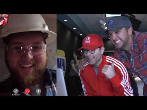 Luke Bryan + Bobby Bones Surprise iHeartRadio