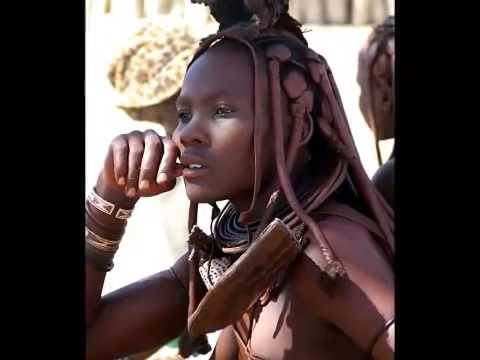 İsolated Himba Culture at namibia