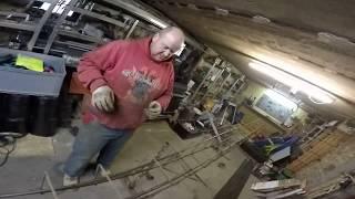 Zbrojenie wieńca stropu teriva. Zatrudnimy do pracy! Tynki maszynowe na gotowej budowie. #vlog