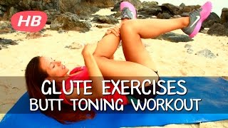 The 9 Pinpoint Glute exercises.  Intense Butt Toning Workout. Elena Power
