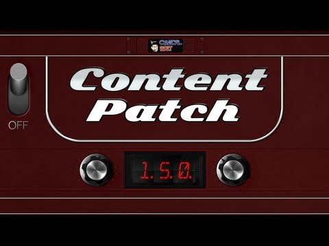 Content Patch - October 7th, 2013 - Ep. 150 [PS4, DualShock 4, Steam Machines]