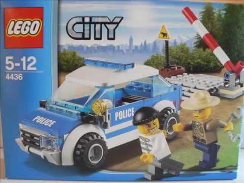 lego city la voiture de patrouille en for t 4436 youtube. Black Bedroom Furniture Sets. Home Design Ideas