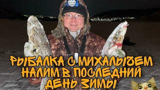 Рыбалка с Михалычем Налим в последний день зимы