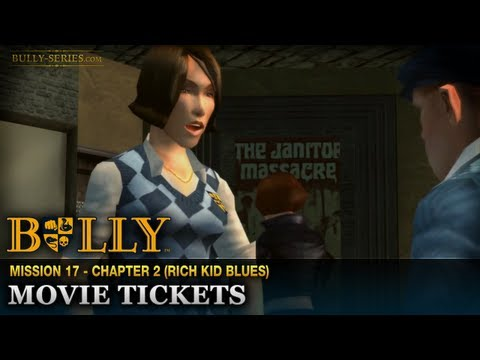 Movie Tickets - Mission #17 - Bully: Scholarship Edition