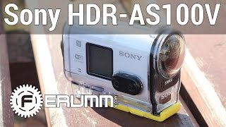 Обзор экшн-камеры Sony HDR-AS100V и пульта RM-LVR1 от FERUMM.COM