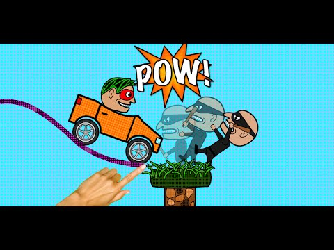Comic Car - iOS and Android Game