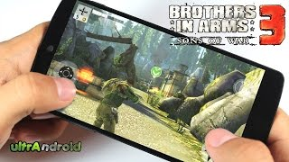"""""""Juego Estreno"""" Brothers in Arms 3 para android"""
