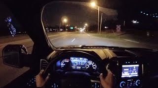 2015 Ford F-150 Platinum Supercrew 4x4 - WR TV POV Night Drive(This week we're behind the wheel of what will likely be the tow vehicle of choice for many racers in the coming years – the all-new 2015 Ford F-150. Based on ..., 2015-04-23T14:59:21.000Z)