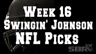 NFL Picks Week 16 - The Oddly Enough Show - Swingin