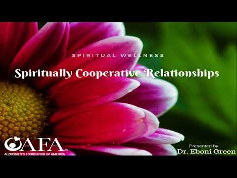 Spiritual Wellness  Spiritually & Cooperative Caregiving