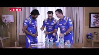 Mumbai Indians Cool off with Usha Striker (Bottle Game)