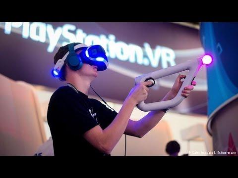 7662fbca4 تجربه العاب الواقع الافتراضي|VR games (حصري) - YouTube