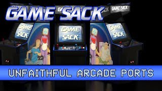 Game | Unfaithful Arcade Ports Game Sack | Unfaithful Arcade Ports Game Sack