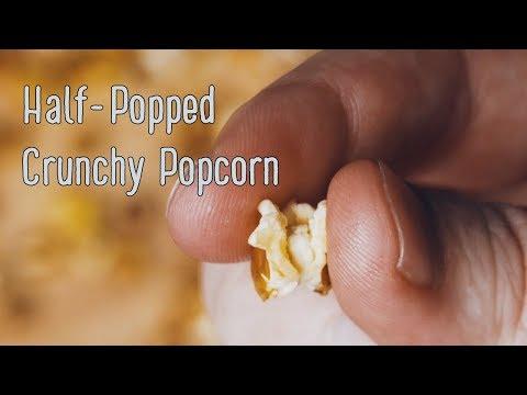 Half-Popped Popcorn